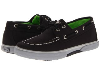Sperry Top Sider Kids Halyard Boys Shoes (Black)