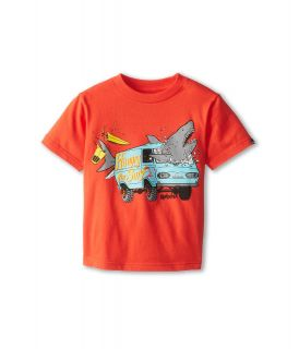 Quiksilver Kids Crash Course Tee Boys T Shirt (Red)