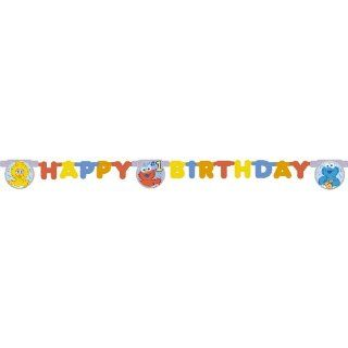Sesame Street Beginnings Happy 1st Birthday Party Banner Toys & Games