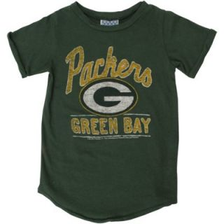 Junk Food Green Bay Packers Toddler Girls Kickoff T Shirt   Green