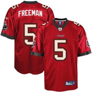 Reebok Josh Freeman Tampa Bay Buccaneers Replica Football Jersey   Red