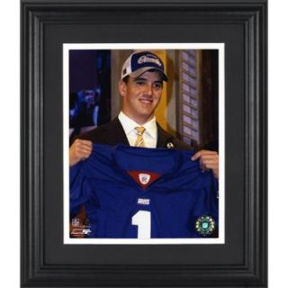 Eli Manning New York Giants Framed Unsigned 8 x 10 Draft Photograph