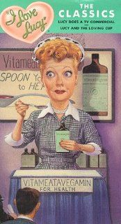 I Love Lucy   The Classics (Lucy Does a TV Commercial/Lucy and the Loving Cup) [VHS] Lucille Ball, Desi Arnaz, William Frawley, Ross Elliott, Jerry Hausner, Jess Oppenheimer, Johnny Jacobs, Vivian Vance, Lester Dorr, Bill Erwin, Jesslyn Fax, Robert Foulk,