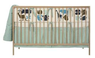 DwellStudio Baby Gio Crib Set, Aqua  Crib Bedding Sets  Baby