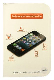 Explosion Proof Tempered Real Glass Screen Protector for Apple Iphone 4S / 4GS / 4G Cell Phones & Accessories