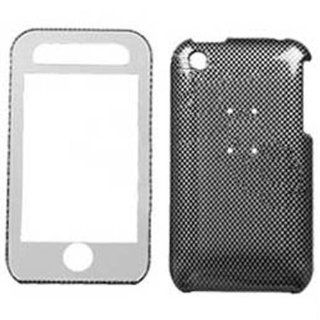 Hard Plastic Snap on Cover Fits Apple iPhone 3G 3GS Carbon Fiber With Lens AT&T (does NOT fit Apple iPhone or iPhone 4/4S or iPhone 5/5S/5C) Cell Phones & Accessories