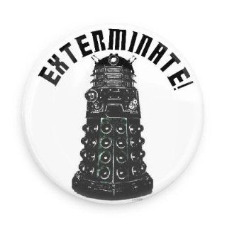 "Doctor Who Dalek Exterminate 1.5"" Fridge Magnet  Refrigerator Magnets"