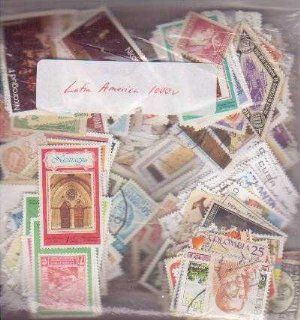 100 Latin America All Different  Collectible Postage Stamps