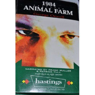 Nineteen Eighty Four / Animal Farm George Orwell, Frank Muller, Patrick Tull 9781402558221 Books