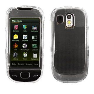 Hard Plastic Snap on Cover Fits Samsung R860 R850 Caliber Transparent Clear US Cellular, MetroPCS,etc. Cell Phones & Accessories