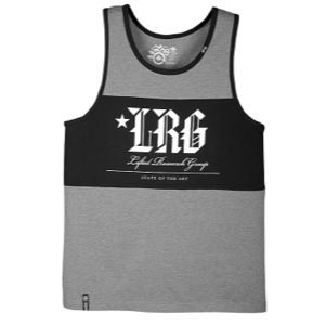 LRG State Of The Art Block Tank   Mens   Casual   Clothing   Black