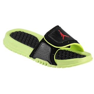 Jordan Hydro II   Boys Preschool   Casual   Shoes   Volt/Black/Fire Red