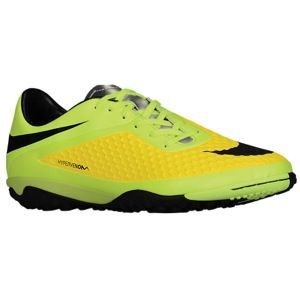 Nike Hypervenom Phelon TF   Mens   Soccer   Shoes   Vibrant Yellow/Metallic Silver/Volt Ice/Black