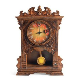 Animated Haunted Halloween Clock   Halloween Decorations and Decor   Grandin Road   Holiday Figurines