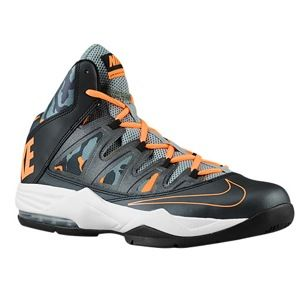 Nike Air Max Stutter Step   Mens   Basketball   Shoes   Black/Mica Green/Dark Mica Green/Atomic Orange