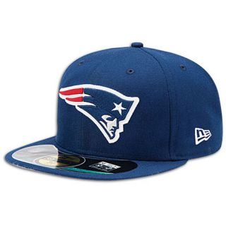 New Era NFL 59Fifty Sideline Cap   Mens   Football   Accessories   New England Patriots   Navy
