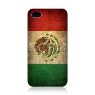 Head Case Designs Mexico Mexican Flag Vintage Flag Protective Back Case Cover for Apple iPhone 4 4S Cell Phones & Accessories