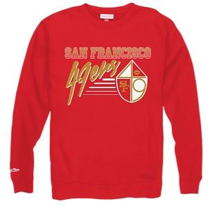 Mitchell & Ness NFL Training Room Crew   Mens   Football   Clothing   San Francisco 49ers   Garnet