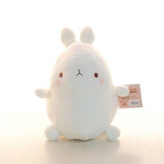"Molang 10"" Bunny Rabbit Plush in K Drama Cute Soft Toy Doll Stuffed Animal Cute Soft Toy Doll Cute Gift for Everyone Fast Shipping  Baby Plush Toys  Baby"