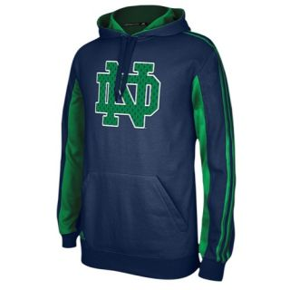 adidas College Statement Pullover Hoodie   Mens   Basketball   Clothing   Notre Dame Fighting Irish   Navy/Fairway