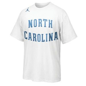 Nike College Hyper Elite T Shirt   Mens   Basketball   Clothing   North Carolina Tar Heels   White