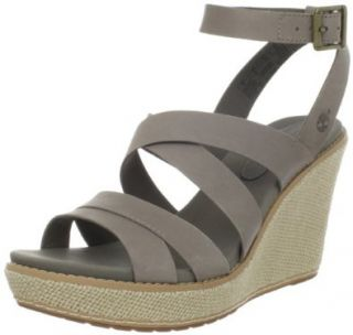 Timberland Women's Danforth Wedge Sandal Shoes