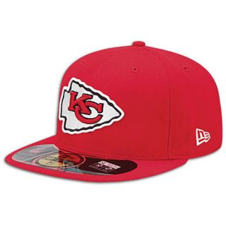 New Era NFL 59Fifty Sideline Cap   Mens   Football   Accessories   Kansas City Chiefs   Red
