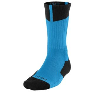 Jordan AJ Dri Fit Crew Socks   Mens   Basketball   Accessories   Vivid Blue/Black