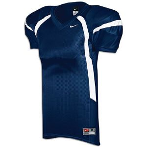 Nike Crack Back Game Jersey   Mens   Football   Clothing   Navy/White/White