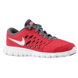 Nike Flex Run 2013   Boys Preschool   Running   Shoes   Distance Red/Armory Slate/Team Red/Metallic Silver