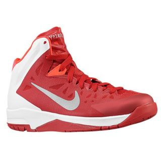 Nike Hyper Quickness   Boys Preschool   Basketball   Shoes   Gym Red/Metallic Silver/White