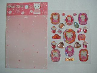Hello Kitty Cat Pink Cell Phone / Jewelry Stickers (2 Designs)   Great Gift Giving Idea for Women and Girls  Other Products