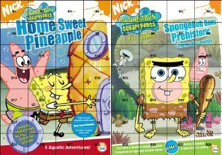 SpongeBob SquarePants Home Sweet Pineapple/Spongebob Goes Prehistoric Tom Kenny, Rodger Bumpass, Bill Fagerbakke, Clancy Brown, Dee Bradley Baker, Mr. Lawrence, Sirena Irwin, Carolyn Lawrence, Jill Talley, Mary Jo Catlett, Lori Alan, Mark Fite, Stephen H