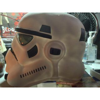 Star Wars Stormtrooper Collectors Helmet, White, One Size Costume Clothing