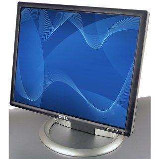 "19"" Dell UltraSharp 1905FP DVI Rotating LCD Monitor w/USB 2.0 Hub (Black/Silver)  Rotates to Portrait or Landscape View Computers & Accessories"