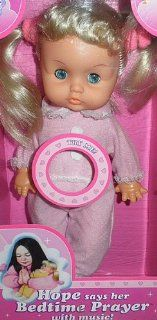 Lovee Baby Doll   Hope Says her Bedtime Prayers, in Pink Toys & Games