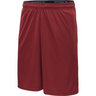 UNDER ARMOUR Mens HeatGear Micro Training Shorts   Size 2xl, Crimson/white