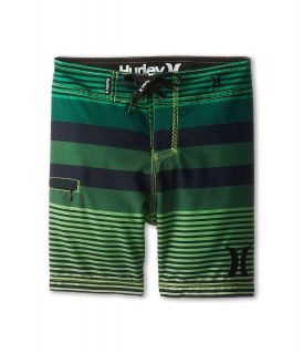 Hurley Kids Echo Boardshort Boys Swimwear (Green)