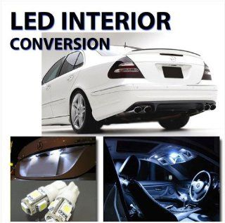 LED 18pc SMD Interior Light Kit HID White Mercedes Benz E Class W211 No Error Automotive