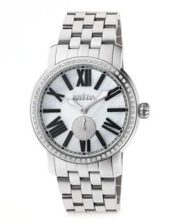 Valentina II Diamond Stainless Steel Watch Head, 42mm   Brera   Silver (42mm )