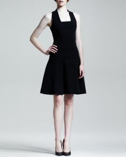 Womens Full Drop Waist Dress   Proenza Schouler   Black (4)