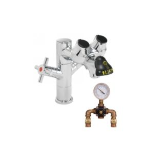 Speakman SEF 1850 TW Polished Chrome Eyesaver Single Post Laboratory Faucet