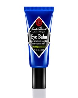 Mens Eye Balm Age Minimizing Gel   Jack Black   Black