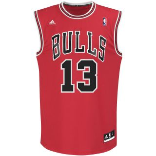 adidas Mens Chicago Bulls Joakim Noah Revolution 30 Road Replica Jersey   Size