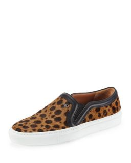Leopard Print Calf Hair Slip On Sneaker   Givenchy   Multi leopard (40.0B/10.0B)