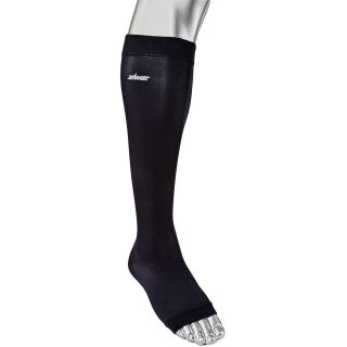 Zamst LC 1 Open Toe 2 pack Gradient Compression Calf Sleeves   Size XL/Extra