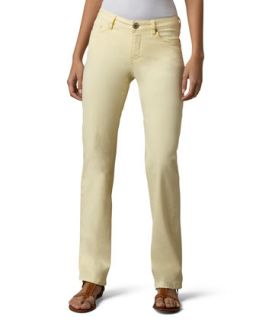 Womens Madison Twill Pants, Short   Christopher Blue   Lemonade (4S)