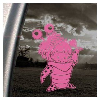 MONSTERS INC BOO Pink Decal Car Truck Window Pink Sticker Automotive
