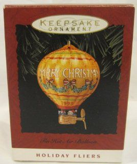 Hallmark Keepsake Ornament Tin Hot air Balloon 1993 NEW   Decorative Hanging Ornaments