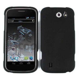 ZTE FLASH N9500 NON SLIP BLACK MATTE CASE ACCESSORY SNAP ON PROTECTOR Cell Phones & Accessories